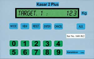Kasar 2 Plus Weighing batch controller